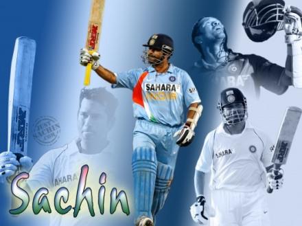 Wallpapers of Sachin Tendulkar