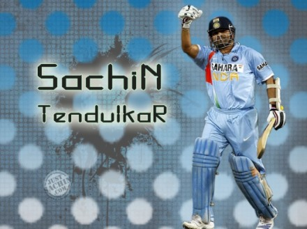 Wallpapers of Sachin Tendulkar