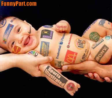 funny baby wallpapers. Commercial Baby