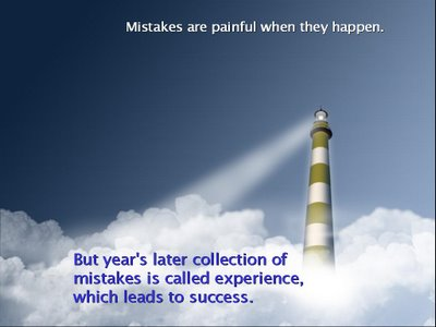 Mistakes Leads To Success. Posted by Sandeep Kumar on November 3, 2010