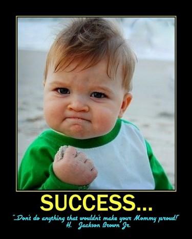 你是成功人士码?